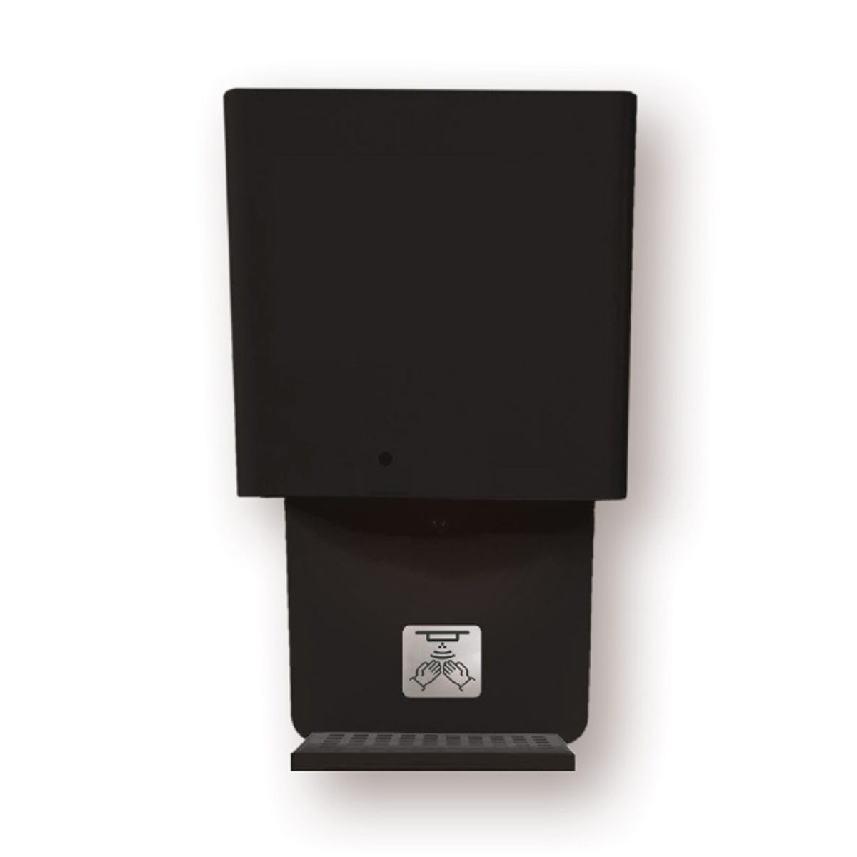 Hygienesäule Standard Wandmodell schwarz